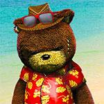 Naughty Bear prepare sa valise pour partir semer la panique sur Paradise Island  (PSN, XBLA)