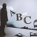 Un Jeu video typographique de Cosmografik (iPhone, iPodT, iPad, Mobiles)