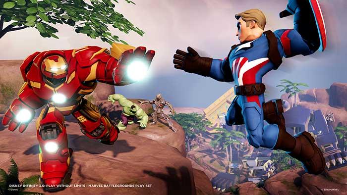 Figurine Disney Infinity 3.0 Marvel Hulkbuster sur  Jeux vidéo top prix