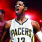 Paul George sera la Superstar NBA en couverture de NBA 2K17 (PS3, PS4, Xbox 360, Xbox One, PC)
