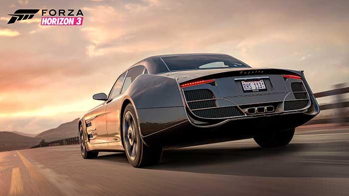 La voiture Regalia de Final Fantasy XV arrive dans Forza Horizon 3