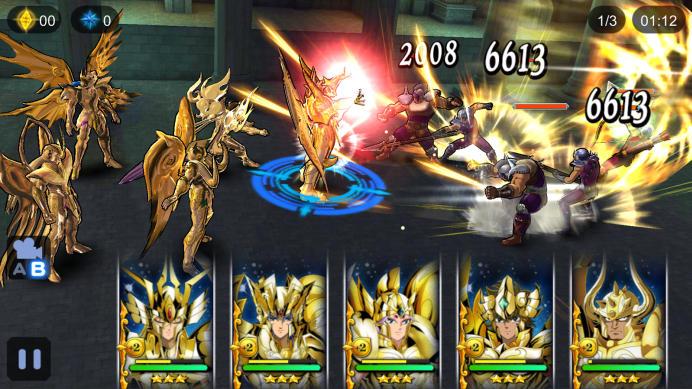 Saint Seiya Cosmo Fantasy arrive sur mobiles