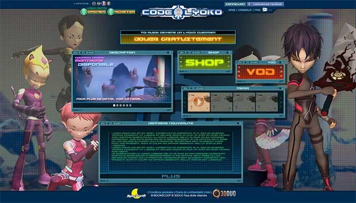 jeu code lyoko pc gratuit