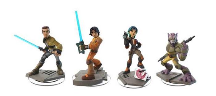 Les personnages de star wars rebels rejoignent disney infinity 3 0 - Personnage star wars 6 ...